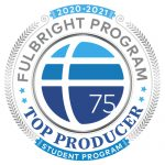 Fulbright Recipient Honors Logo