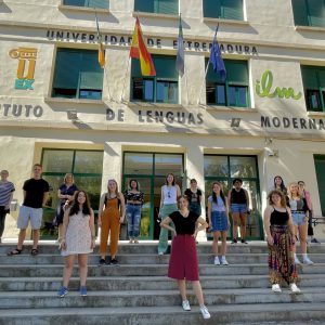 Caceras, Spain, Study Abroad Group