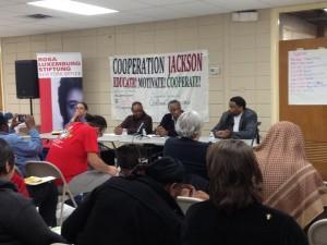 Cooperation Jackson Economic Development in a seminar