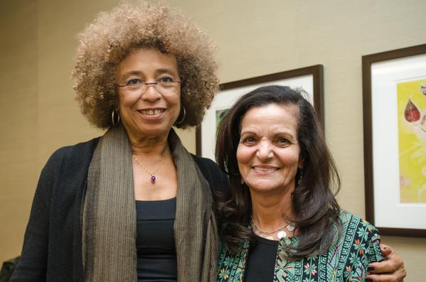Angela Davis and Rasmea Odeh