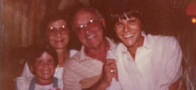 Family photo including Martha, Marty, and Shayna