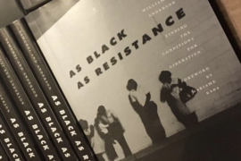 As Black As Resistance book cover