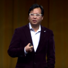 Ben Huh presenting at TEDx