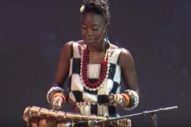 d'bi young anitafrika playing the gyli