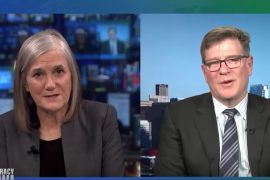 Amy Goodman interviewing Charlie Swift on Democracy Now