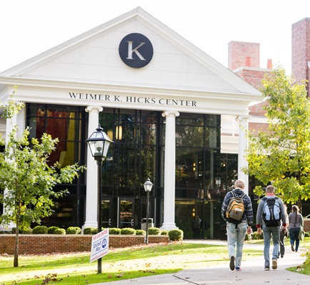 Weimer K. Hicks Student Center at Kalamazoo College