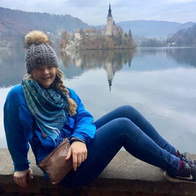 Katie Johnson in Budapest