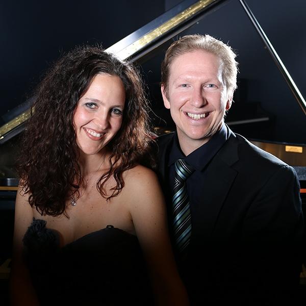 Westhuizen Duo at piano